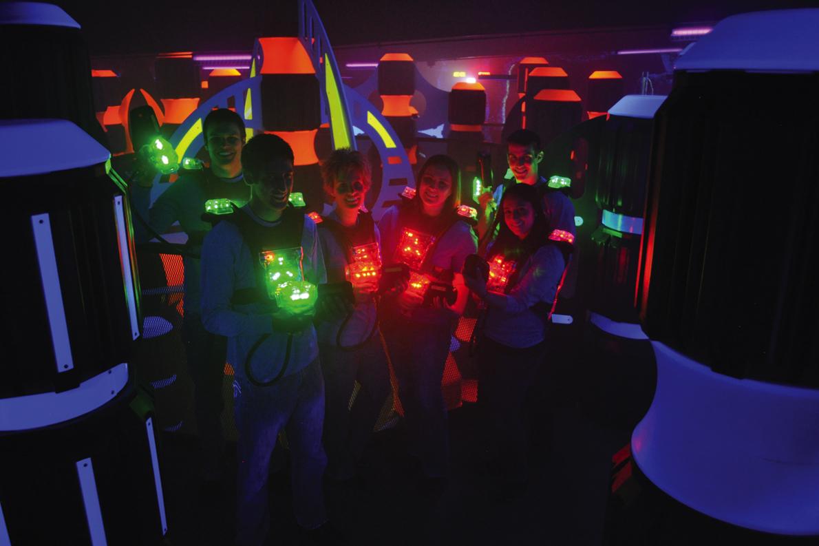 Le lasergame, un jeu dangereux ?