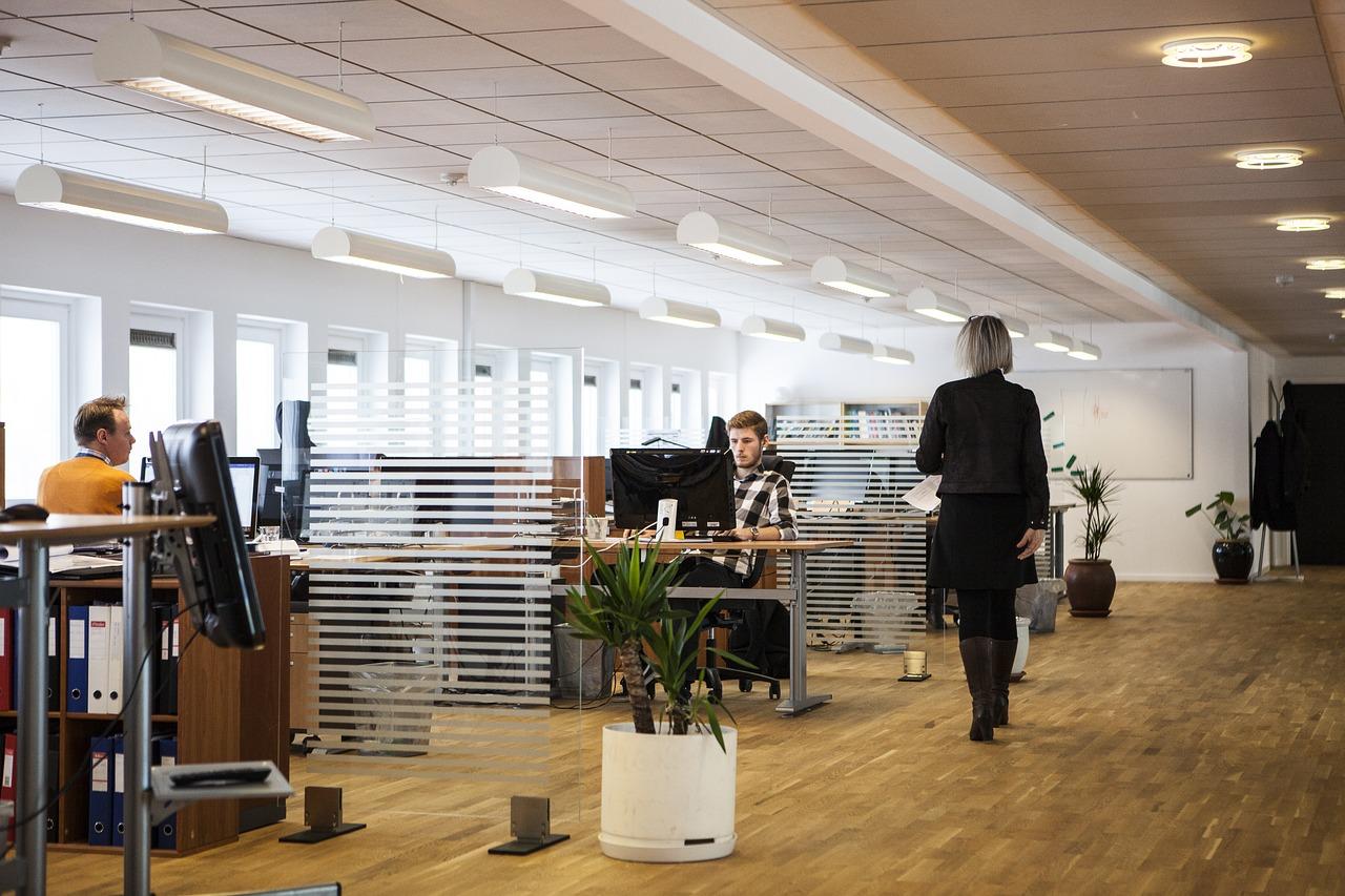 Visite virtuelle bureau