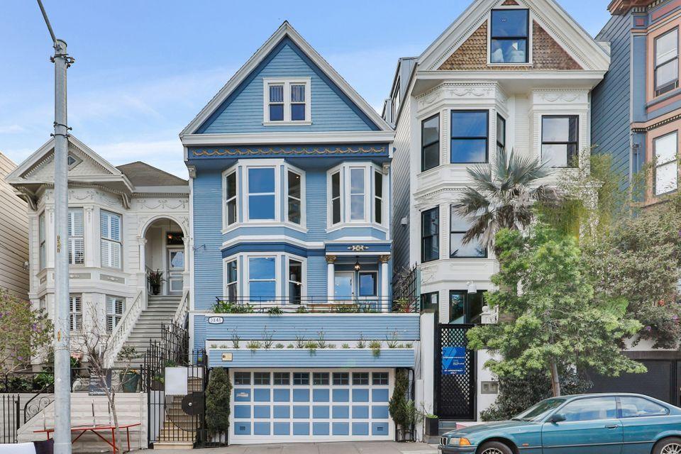 Maison bleue San Franciso