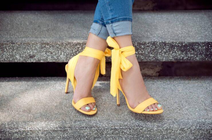 Quelles chaussures avec le pantalon cropped ?