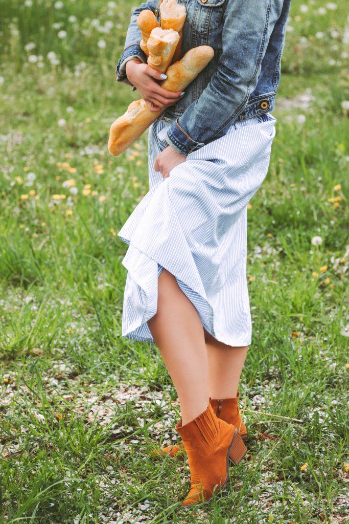 Comment porter des bottines avec une robe
